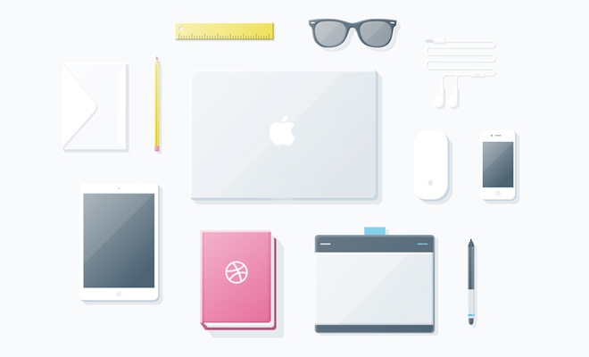 glossy icons design sketch freebie