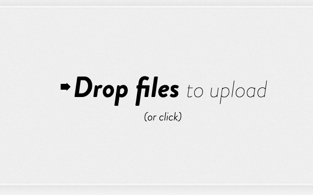 dropzone drop files uploading input jquery
