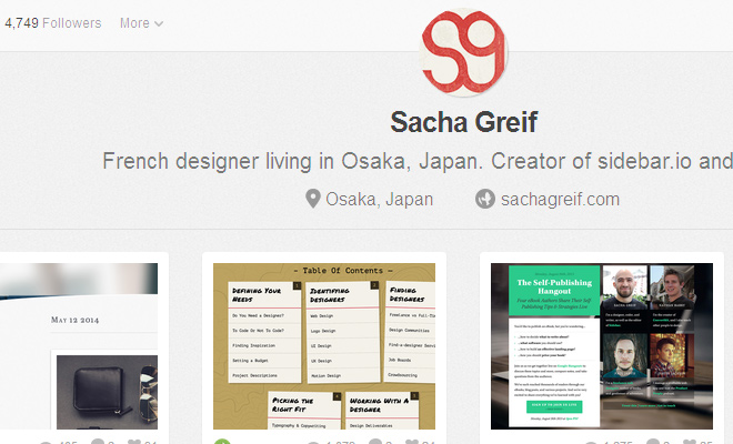 sacha greif interview dribbble timeout