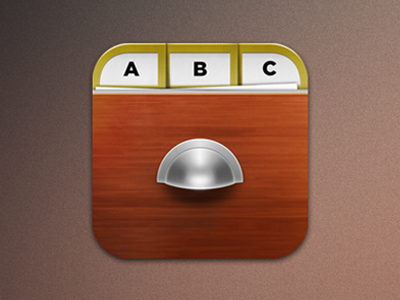 Filing Cabinet directory app icon