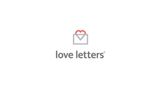 heart symbol love letters icon envelope