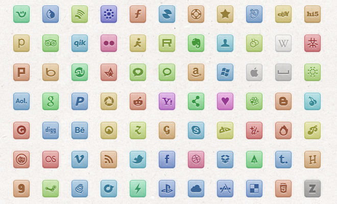 mitrious freebie social media iconset