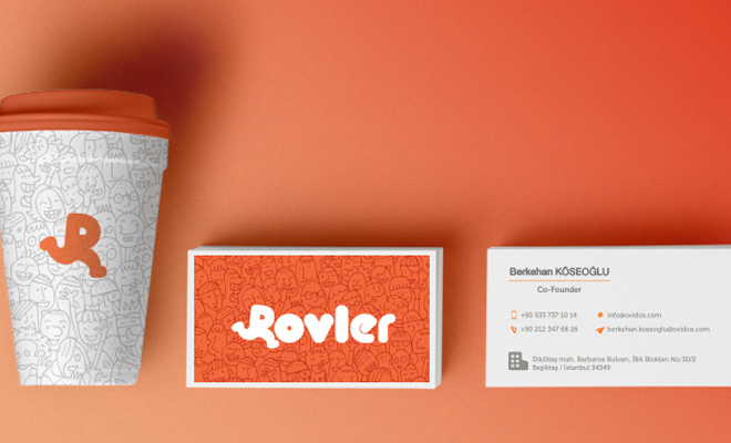 rovley print branding packaging design logotype