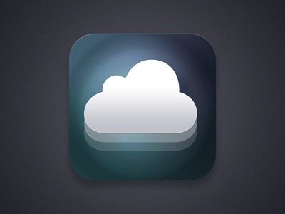 FRVNT logo iPhone/iPad app icon design