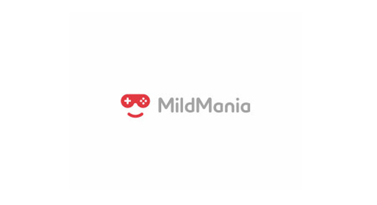 mild mania logo design inspiration icon