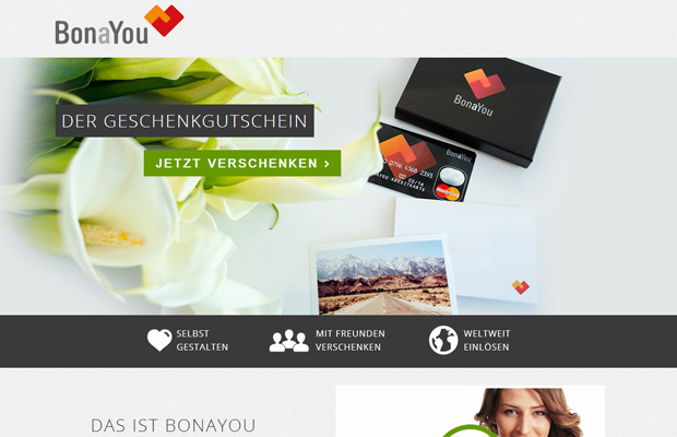 bonayou website german homepage design clean typography