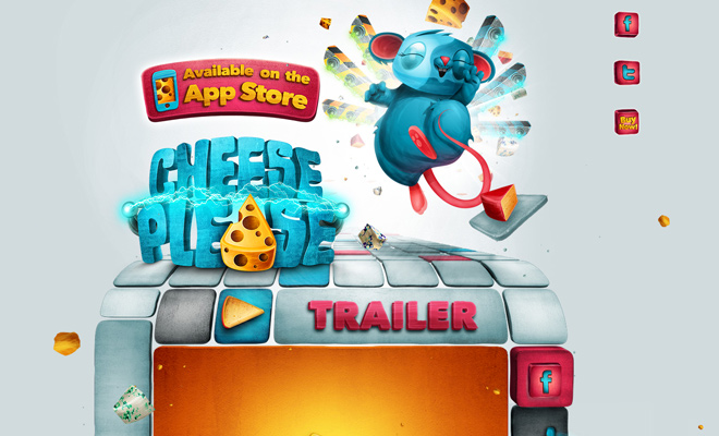cheese please game ios app store website landing page