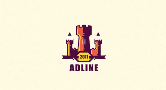 adline castle logo vector design