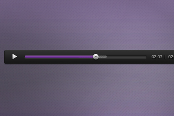 audio player psd freebie design download