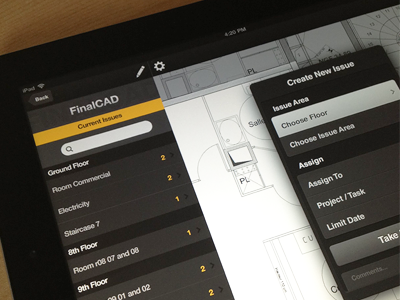 Drafting AutoCAD software iPad App