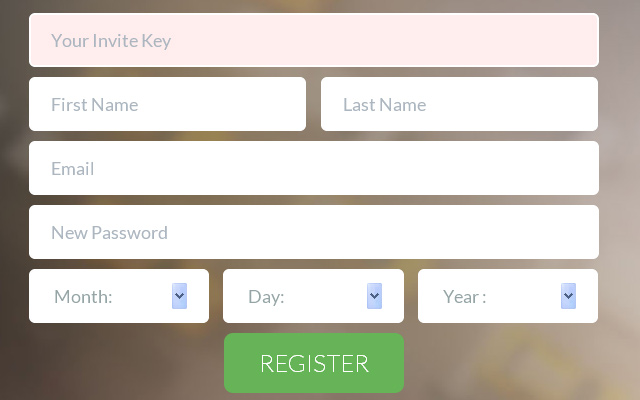 Notable Website Registration And Login Forms  Spyrestudios
