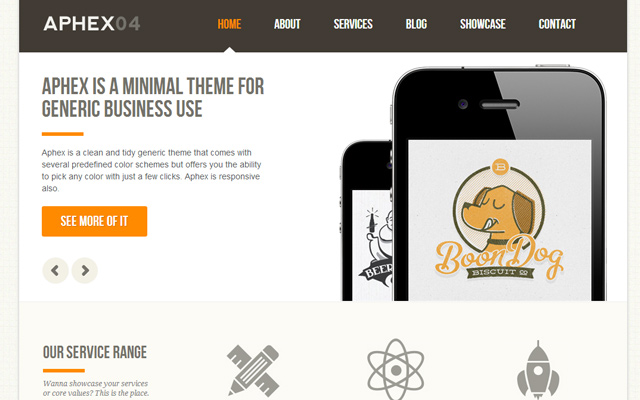 aphex04 html5 template design premium purchase