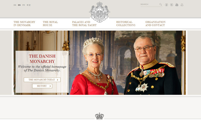 danish denmark monarchy family website