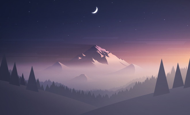 atmosphere painting mountains design bg