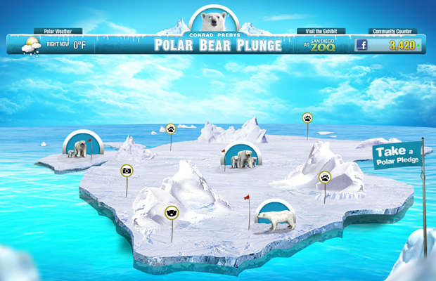 arctic polar bear plunge game flash website