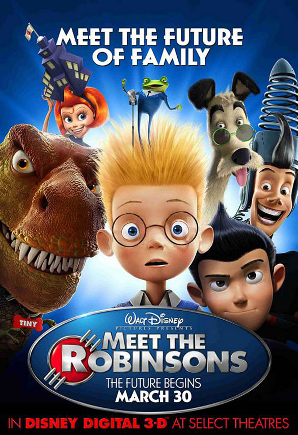 meet the robinsons disney digital 3d
