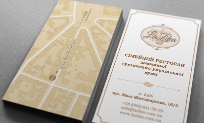 lazika print brochure maps direction inspiration