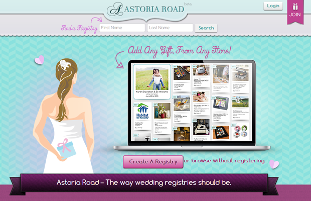 startup website layout interface ui astoria
