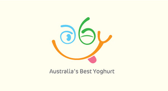 australia best yogurt logo design
