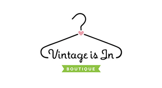 vintage is in logo design typography