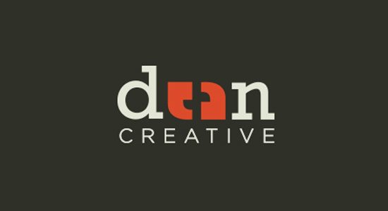 dean creative commas unique logo inspiration
