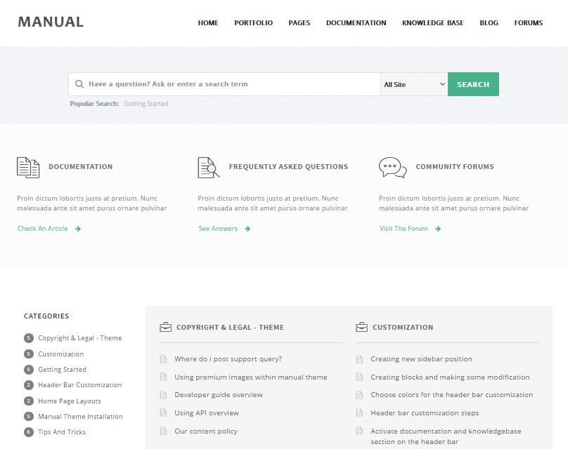10 User-Friendly FAQ Page Templates & Support Themes