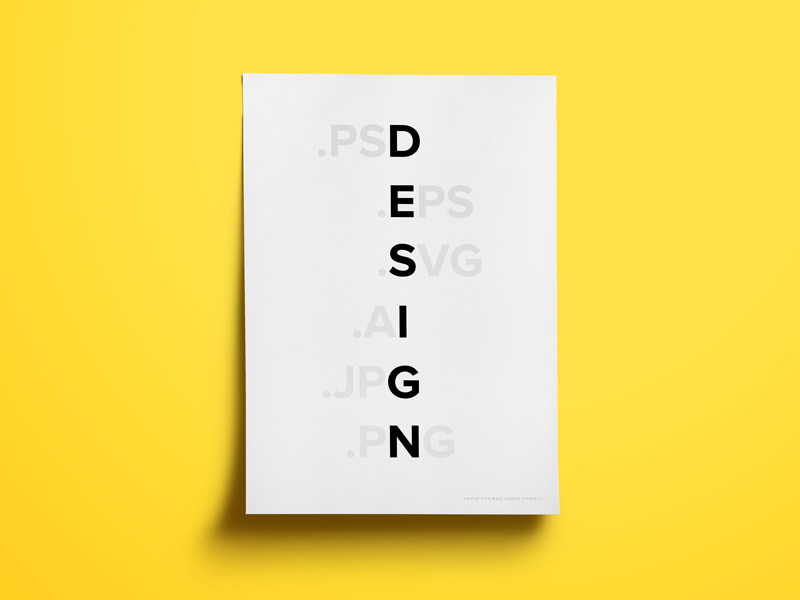 bold typography in design