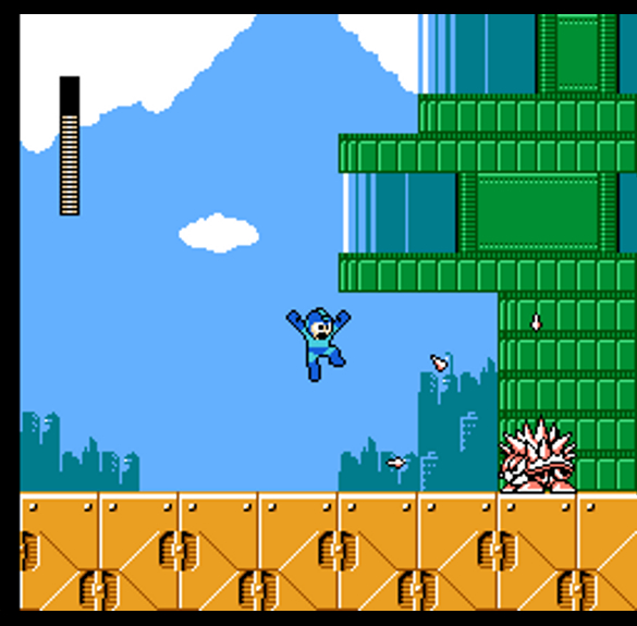 Megaman 3's vibrant anime inspired world