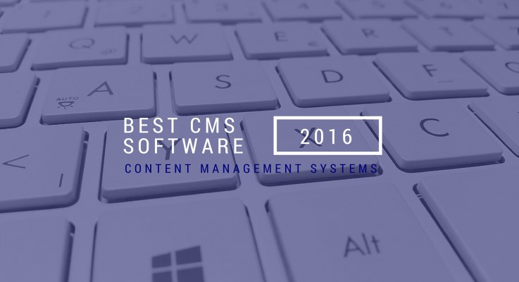 The Best CMS Software in 2016