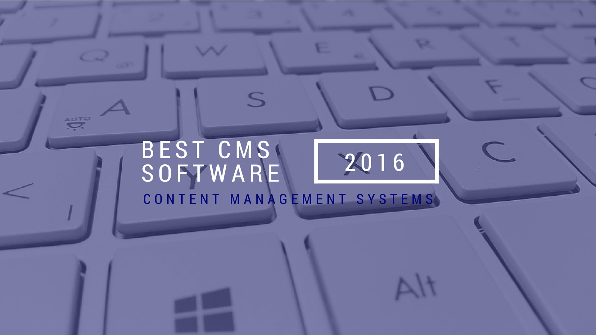 Top CMS software