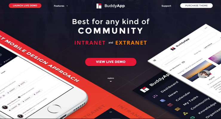 10 BuddyPress-Powered WordPress Themes