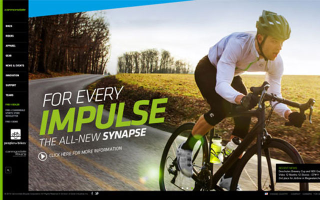 Cannondale-Bicycle-Manufacturer-Website
