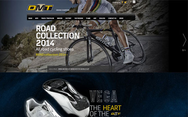 DMT-Cycling-Shoes-Producer-Website