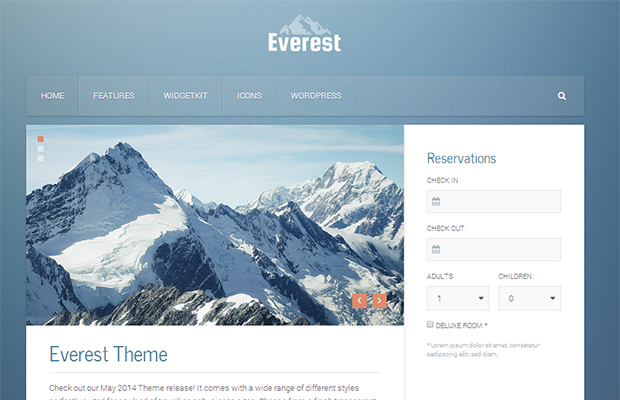 60 Minimal WordPress Themes