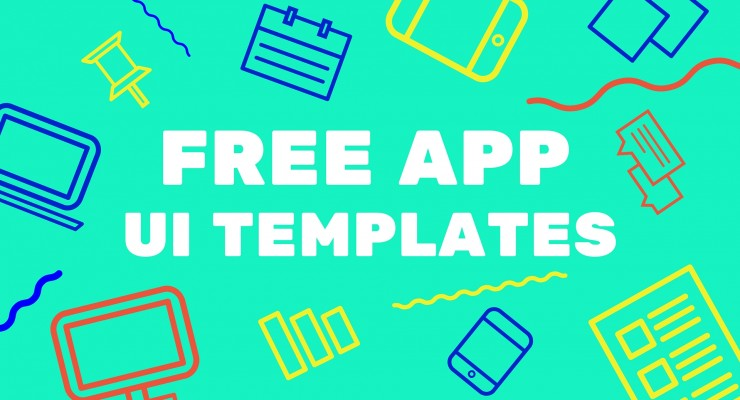 Free App UI Templates For The Mobile Designer