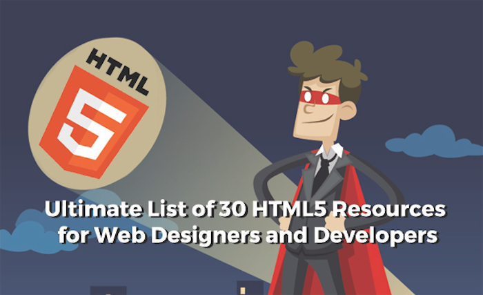 ultimate list of html 5 resources