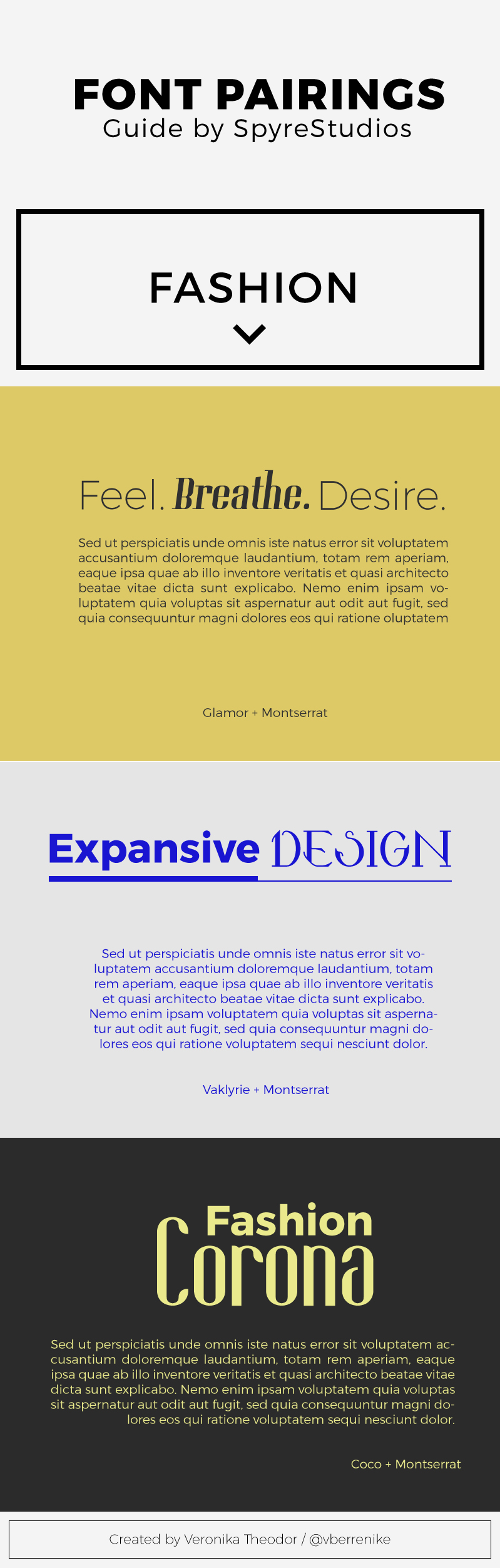 Free Font Pairings for the Fashion Industry