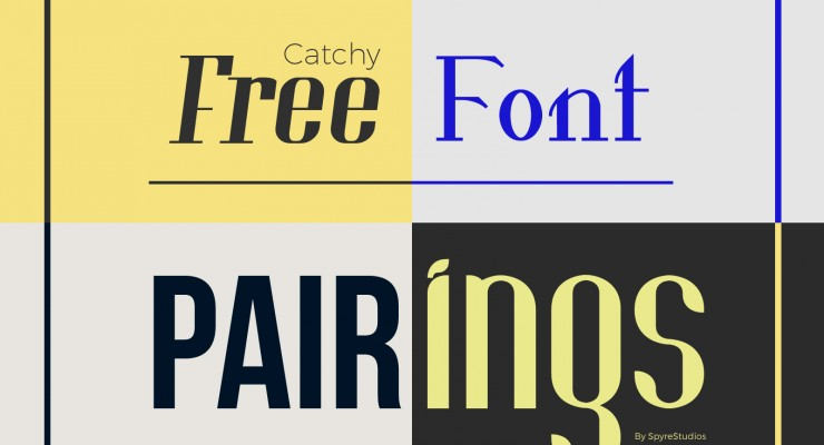 Catchy Free Font Pairings For Headings and Paragraphs