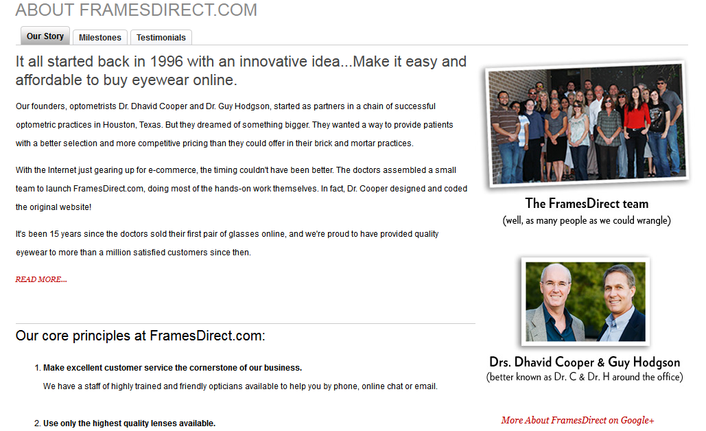 create a credible online retail store