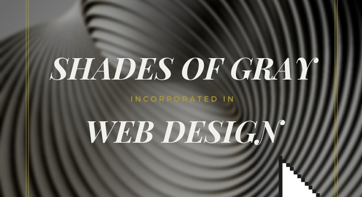 Shades of Gray in Web Design Inspiration