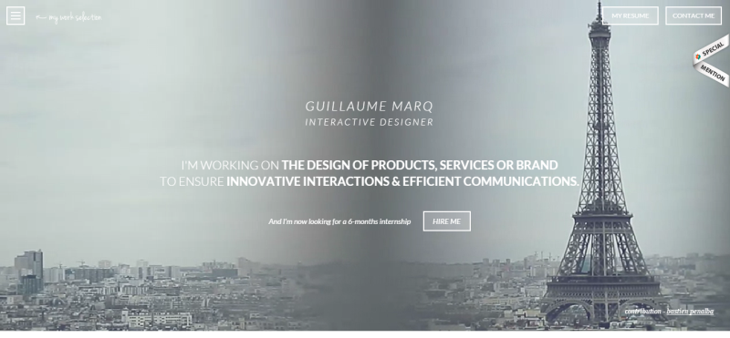 Guillaume MARQ   Work selection 2013 2014