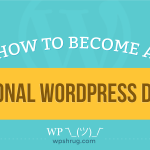 become a professional wordpress developer