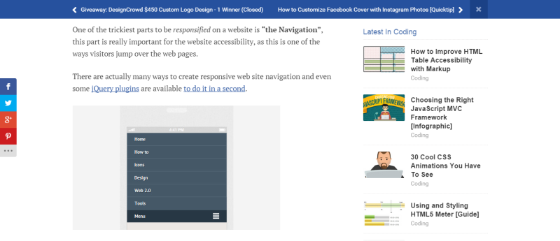 How to Create a Responsive Navigation Hongkiat