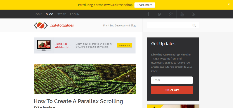 How to create a parallax scrolling website using Skrollr.js   Tutorial