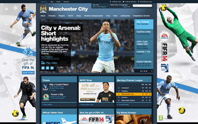 Manchester-City-Football-Club-Website
