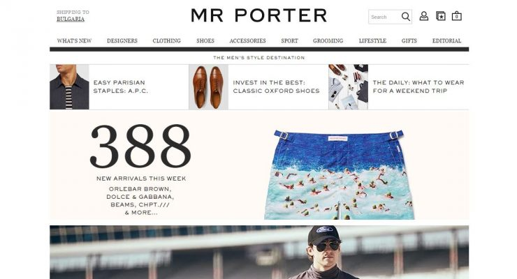 20 Masculine E-commerce Websites​ for Father's Day​