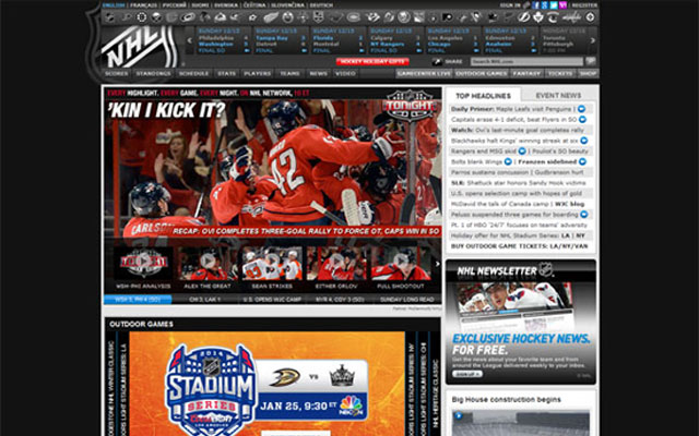 NHL-Official-Site
