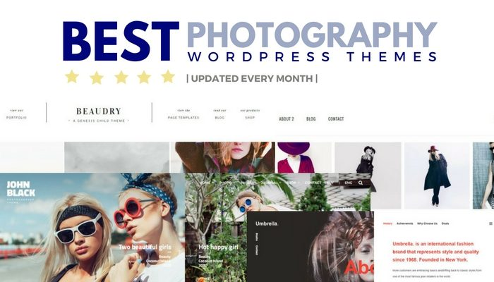15 Best Photography WordPress Themes