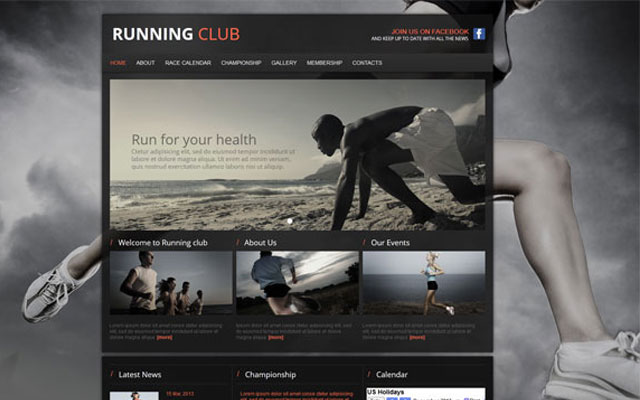 Running-Club-Website