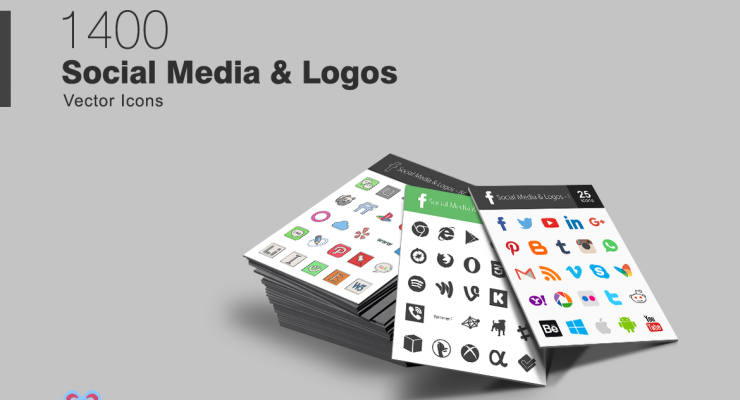 Get Free Social Media Icons and Logo Sets From IconBunny
